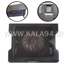 فن خنک کننده لپ تاپ DL5205 شیب دار / پایه دار / دو USB / پاور دار