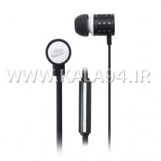 ایرفون NIKE مدل NK-125 میکروفون دار / دکمه دار