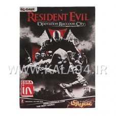 بازی RESIDENT EVIL: OPERATION RACCOON CITY / تعداد 2DVD / پک بزرگ
