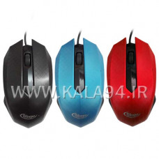 ماوس سیمی Bingu رنگی / Fashion Mouse / 1600DPI / 3D Gaming Mouse