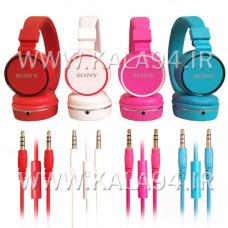 هدفون حرفه ای SONY مدل XB10 / میکروفون دار و دکمه دار / هد ریلی قابل تنظیم / کیفیت و وضوح بالا / رنگبندی