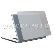 لیبل و ضد خش محافظ پشت لپ تاپ / بی رنگ مات / تک پک / کیفیت عالی